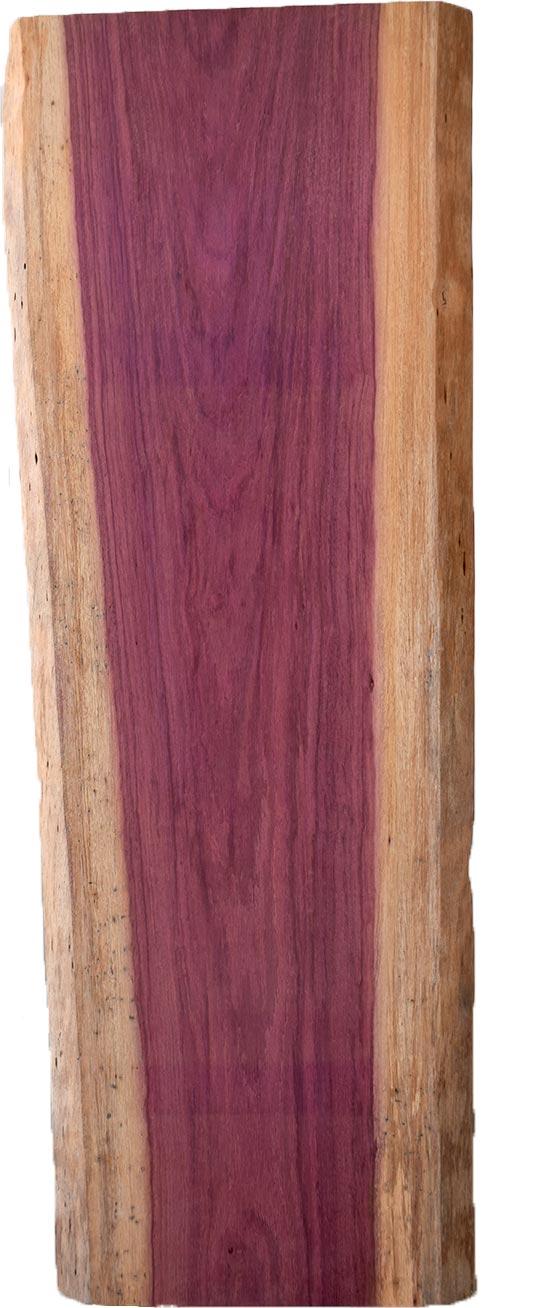 M's–無垢一枚板 取扱樹種紹介:パープルハート