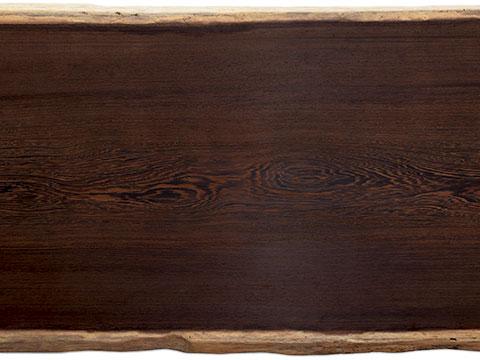 M's–無垢一枚板 取扱樹種紹介:ウエンジ
