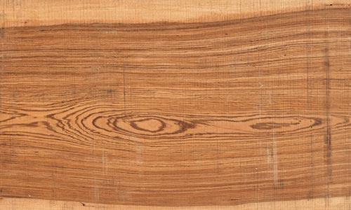 樹種:ゼブラウッド